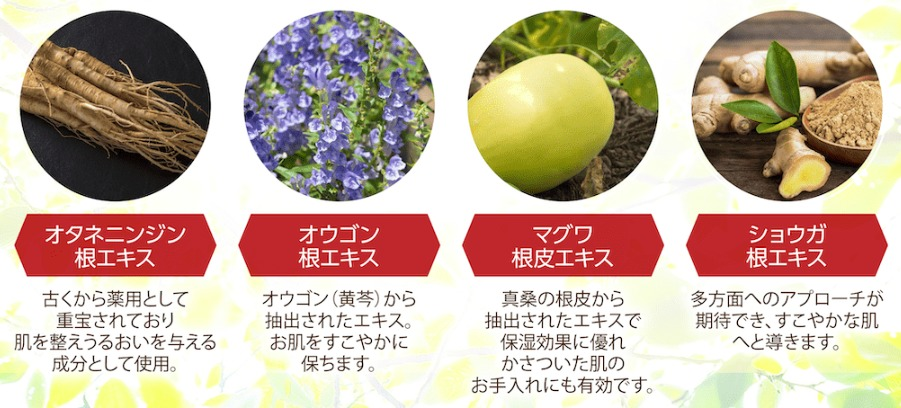 4種の和漢エキス